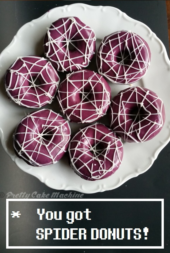 Recipe Tutorial Spider Donuts Undertale Undertea Part 2