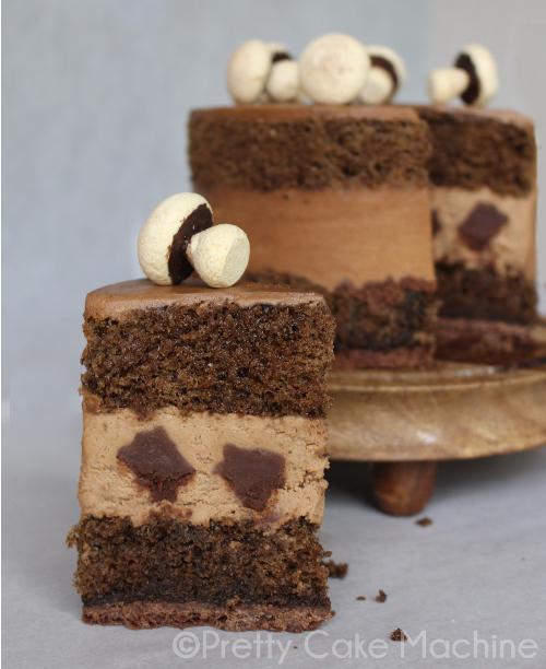 Shroom Cake Recipe